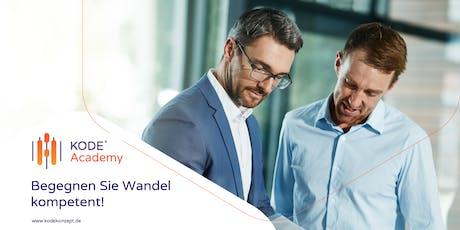 KODE®X Berater - Lizenzausbildung, München, 21.09.2019 Tickets