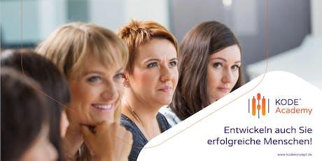 KODE® Lizenzausbildung München, 21./22.11.2019 Tickets