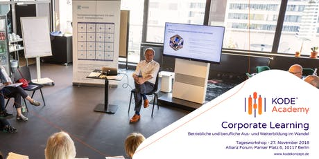 Corporate Learning Tagesworkshop, Berlin, 27.11.2019 tickets