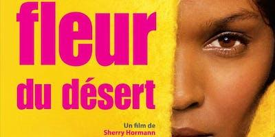 Diffusion du film fleur du désert et débat
