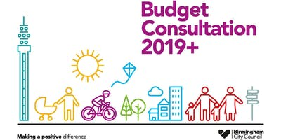 Birmingham City Council Budget Consultation 2019+ Public Meeting