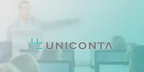Uniconta training 2019: Logistieke processen tickets