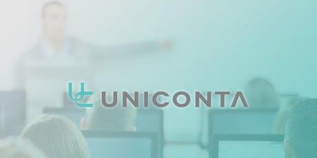 Uniconta training 2019: Project beheer & processen tickets