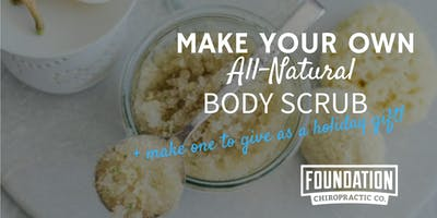 Make Your Own All-Natural Body Scrub + Make One As A Gift!