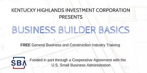 Business Builder Basics - Course 9 - Middlesboro, Kentucky