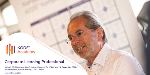 Corporate Learning Professional, Berlin, 20.11. - 19.12.2019