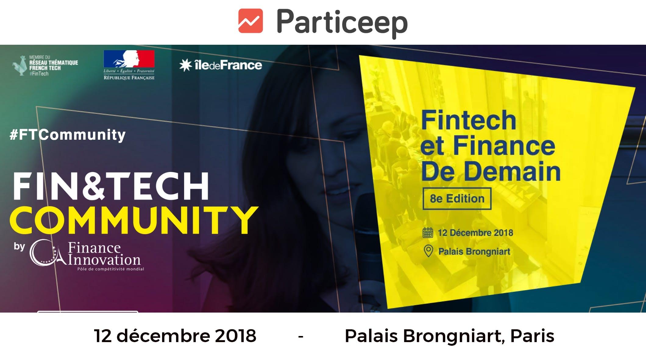 Particeep au Fintech Community