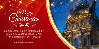 Christmas gift: Personal Paris Photography Worksho