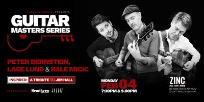 Guitar Masters Series: Peter Bernstein, Lage Lund, and Rale Micic