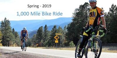 Spring 2019 - 1,000 Mile Bike Ride - Gulf Shores Alabama