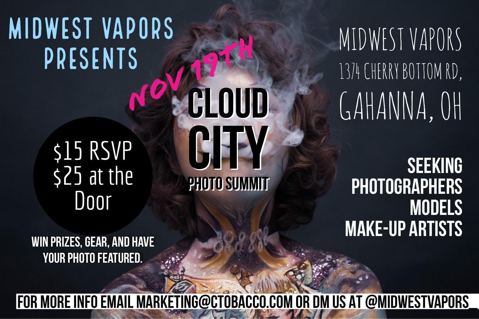 Cloud City Photo Meetup - 19 NOV 2018