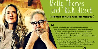 Molly Thomas and Rick Hirsch