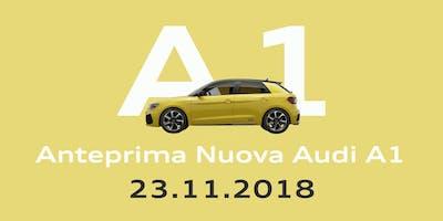 Anteprima Nuova Audi A1