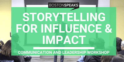 Storytelling For Influence & Impact