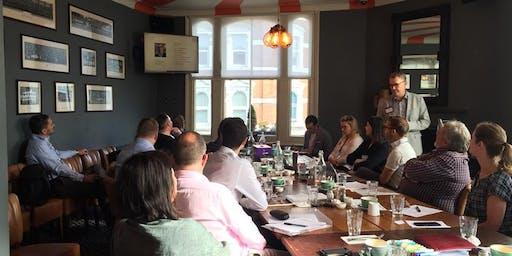 Clapham Breakfast meeting of professionals