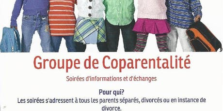 GROUPE DE COPARENTALITÉ - Soirée d'informations et d'échanges tickets