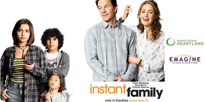 """See """"Instant Family"""" FOR FREE - Movies For Me"""