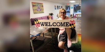 Welcome Sign! Essex, Crazy Tuna with Artist Katie Detrich!