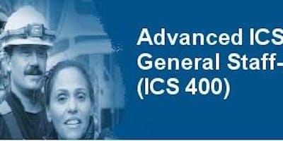ICS 400 - Advanced ICS - Cheyenne, WY LCFD#2, April 13-14, 5800 College Ave. Cheyenne, WY 82009