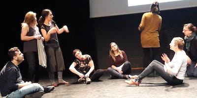 4ème Rassemblement des Dramathérapeutes et professionnels utilisant les Arts Scèniques à des fins Thérapeutiques, Sociales et Educatives
