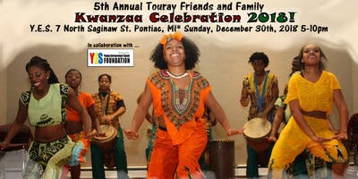 The 5th Annual Touray Friends and Family Kwanzaa Celebration!