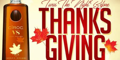 TWAS the NIGHT Before Thanksgiving at M!X Bricktown