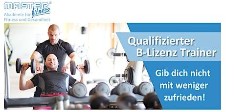 Ausbildung zum Qualifizierten Fitnesstrainer (B-Lizenz) Tickets