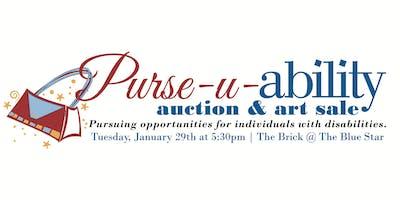 disABILITYsa Purse-u-ability Auction, Raffle & Art Sale