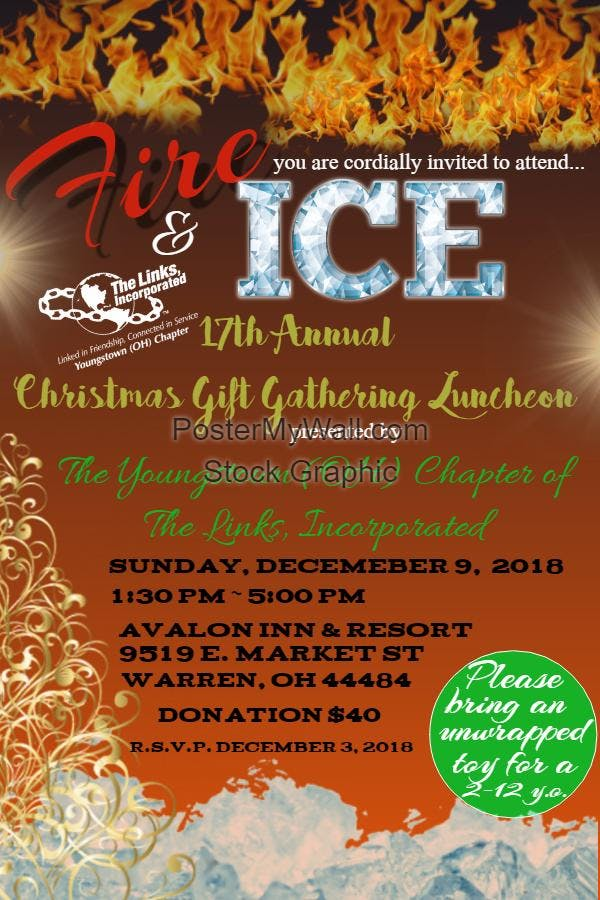 The Links, Incorporated, Youngstown (OH) Chapter Christmas Gift Gathering Luncheon
