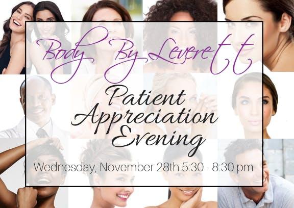 Patient Appreciation Party 2018