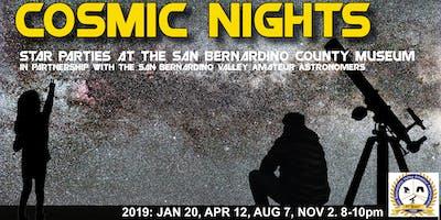 Cosmic Nights January: Star Parties at the San Bernardino County Museum