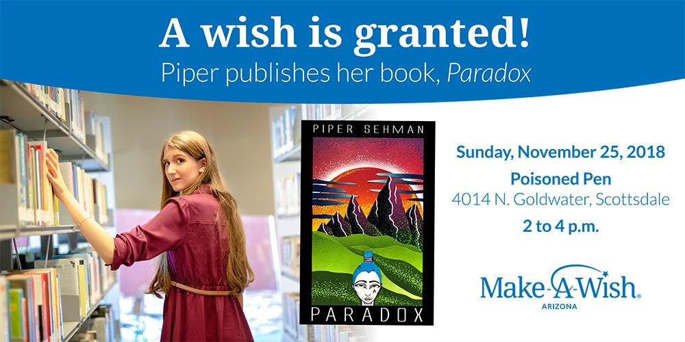 Piper's Book Signing Event