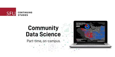 Community Data Science Certificate Info Session (Vancouver) — Apr 25, 2019