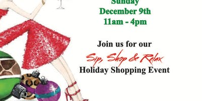 Sip, Shop & Relax Holiday Shopping Event