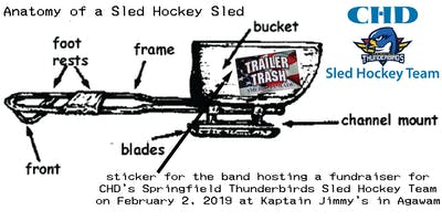 Thunderbirds Sled Hockey Fundraiser with the Trailer Trash Band