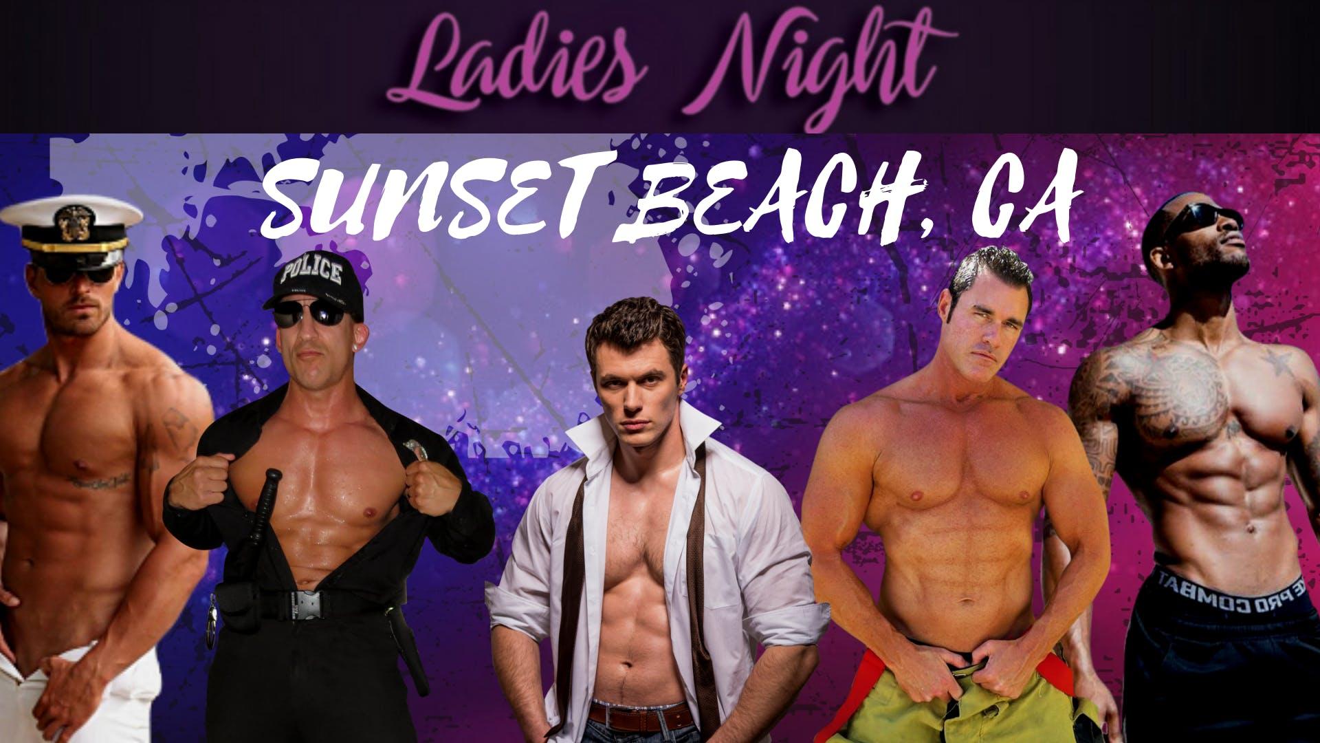 Sunset Beach, CA. 2nd Show. Magic Mike Show L
