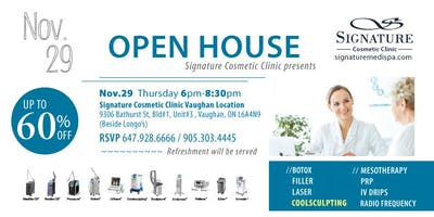 Signature Cosmetic Clinic Open House