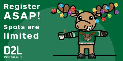 Sell D2L Your Ugly Holiday Sweater Event!