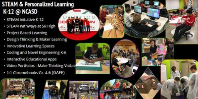New Castle School District Lunch and Learn: STEAM and Innovative Learning Spaces