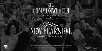 Commonwealth New Years Eve at MGM Springfield