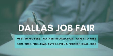 Dallas Job Fair - September 12, 2019 Job Fairs & Hiring Events in Dallas TX tickets