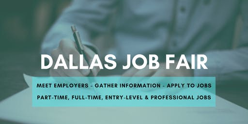 Dallas Job Fair - December 5, 2019 Job Fairs & Hiring Events in Dallas TX