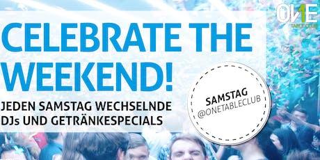 Samstags Party im OneTableClub Stuttgart Tickets