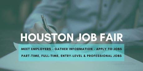 Houston Job Fair - August 14, 2019 Job Fairs & Hiring Events in Houston TX tickets