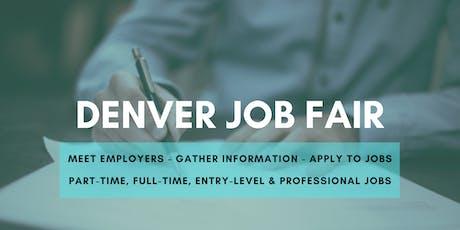 Denver Job Fair - November 4, 2019 Job Fairs & Hiring Events in Denver CO tickets