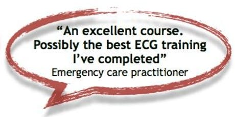 SCST Foundation Course in Essential ECG Interpretation - Autumn 2019 tickets