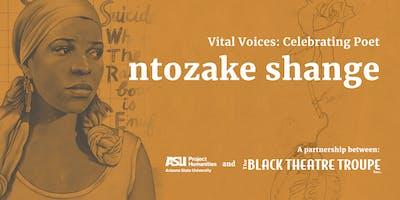 Vital Voices: Celebrating Poet ntozake shange