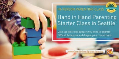 Hand in Hand Parenting Starter Class