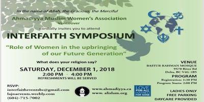 Interfaith symposium