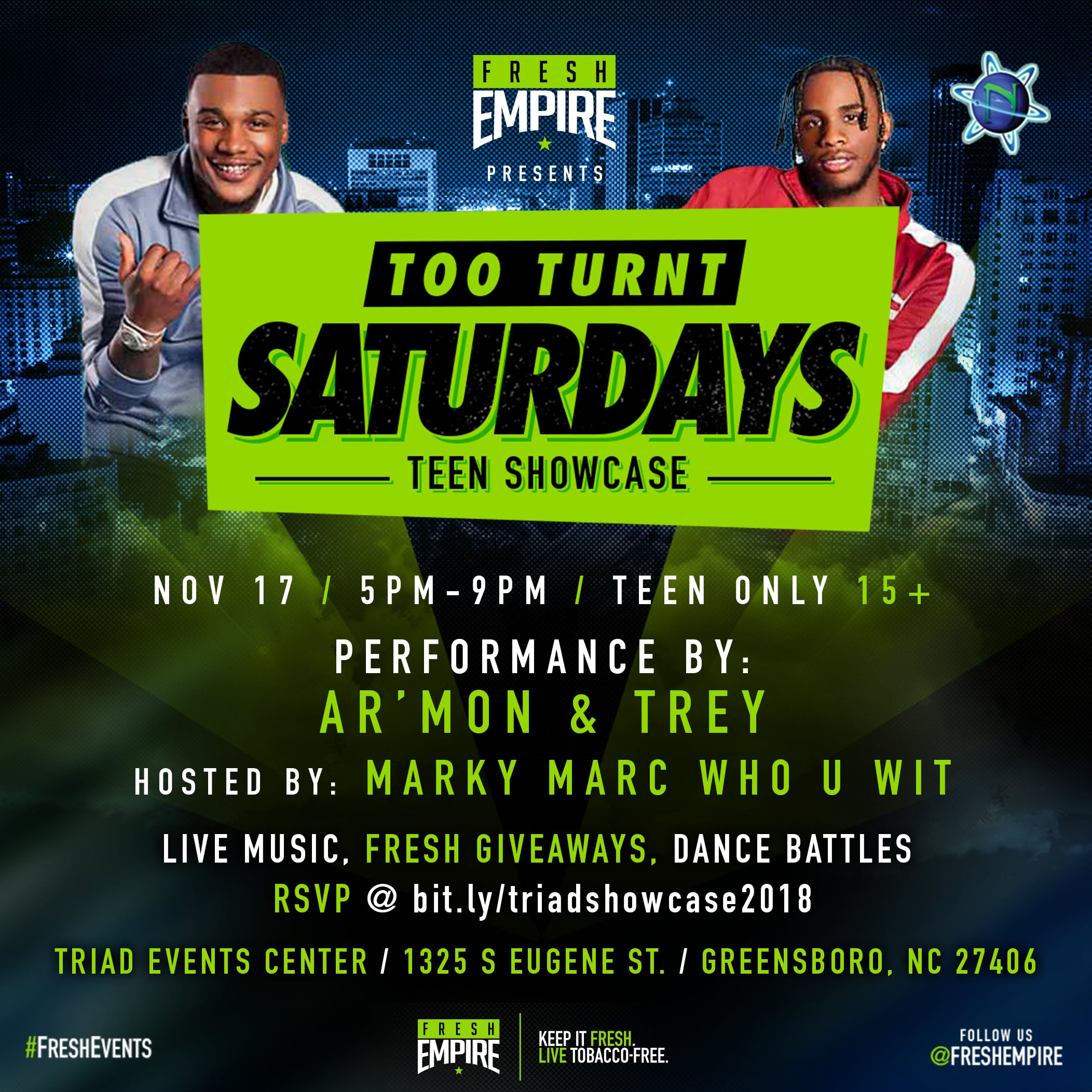Too Turnt Teen Showcase